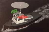 Navigatieverlichting motorboot